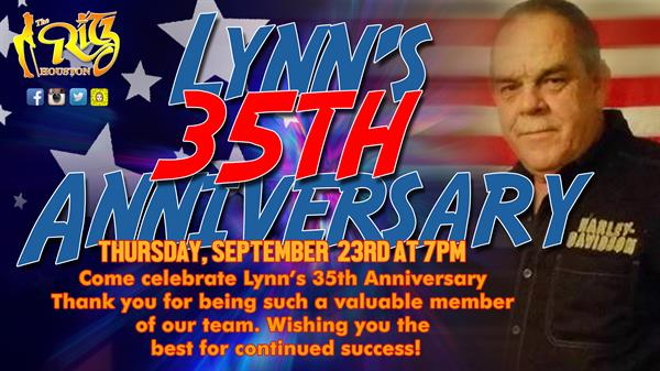 LYNN'S 35TH ANNIVERSARY