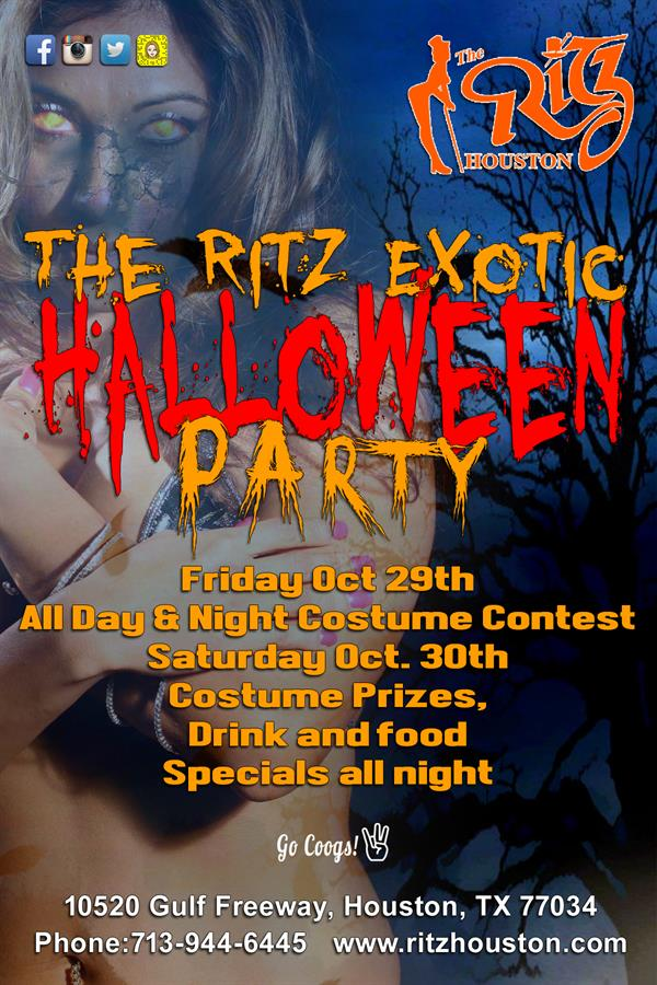 THe Ritz Exotic Halloween Party