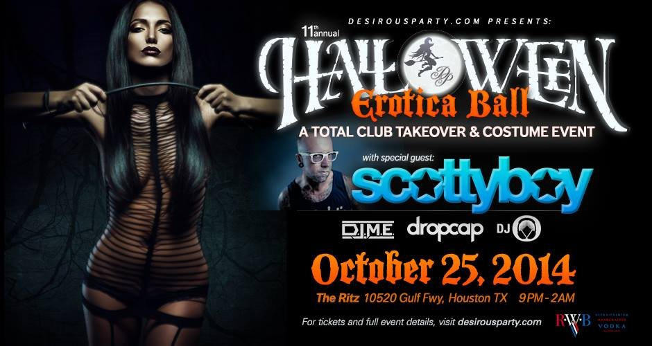 Houston Halloween Party with Desirous Party
