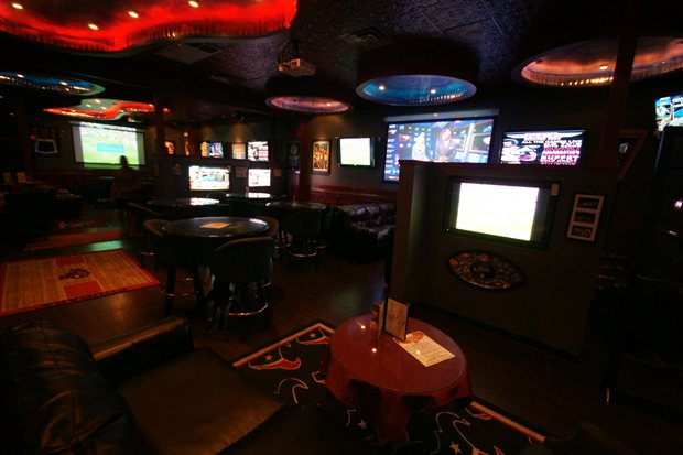 Ultimate Houston Sports Lounge